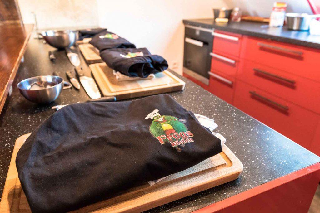 Cours de cuisine Orléans Frogs kitchen