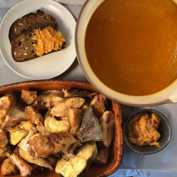 french fish soup bouillabaisse