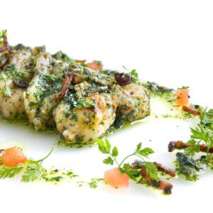 Curso de cocina de ancas de ranas y caracoles