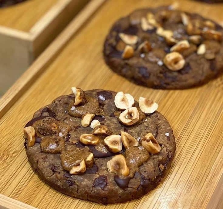 Cookie noisette chocolat Vegan Serena Obadia
