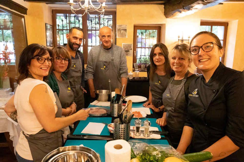 Cours de cuisine en entreprise Frogs Kitchen